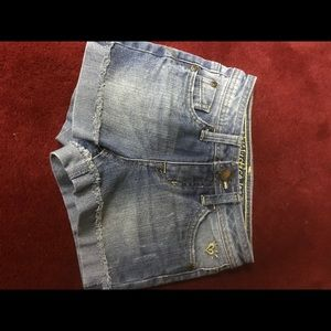 Justice Bottoms - Girl's denim shorts 2 pair size 8 slim by Justice